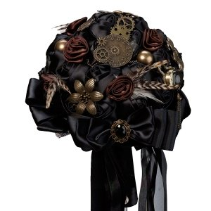 Steampunk Wedding Bouquet image