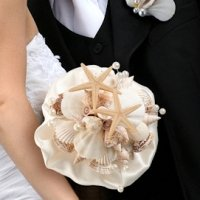 Coastal Sea Shell Bouquet