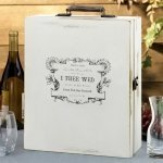 Antique True Love Wedding Wine Ceremony Box