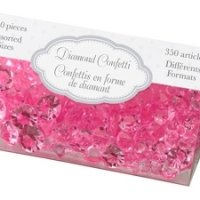 Diamond Confetti-Hot Pink