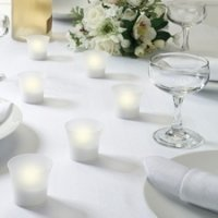 Battery Operated Tealight Votive Candles (Set of 6)