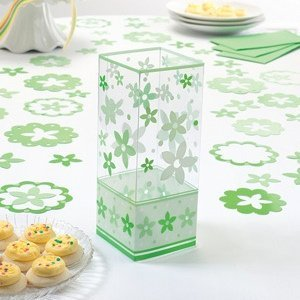 Green Flower Centerpieces (Set of 6) image