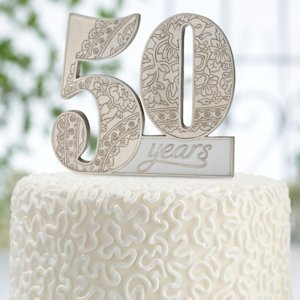 50th Anniversary Cake Pick image