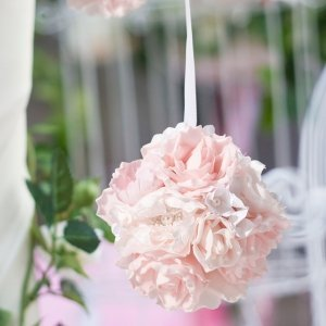Blush Pink Flower Ball image