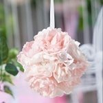 Blush Pink Flower Ball
