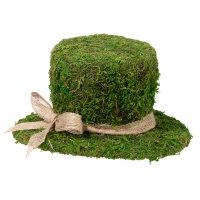 Moss Top Hat Decoration