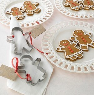 Gingerbread Cookie Cutter Wedding Favors (Set of 12) image