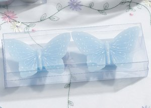 Blue Butterfly Floating Candles Set image