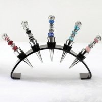 Beaded Wine Stopper - 6 Colors