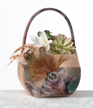 Camo Flower Basket image