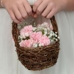 Rattan Flower Basket