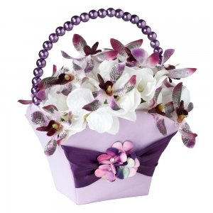 Radiant Flower Petal Basket image