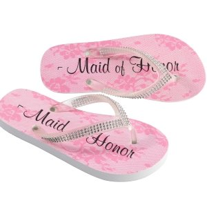 Bridal Party Flip Flops (3 Designs) image