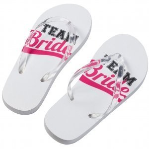 Team Bride Flip Flops image