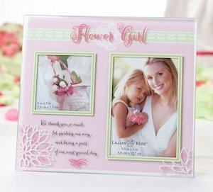 Flower Girl Picture Frame image