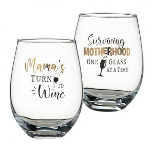 Mama's Stemless Wine Set of 2 for Mom image