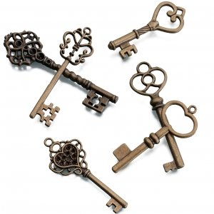 Bronze Keys (Set of 24) image
