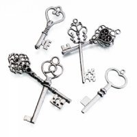 Silver Key Favors (Set of 24)