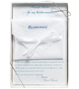 Boxed Bridesmaid Gift Hankie image