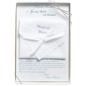 Boxed Maid Of Honor Gift Hankie image
