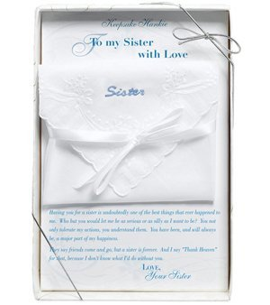 Boxed Sister Gift Hankie image