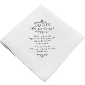 Step Parent Wedding Hankie (2 Designs) image