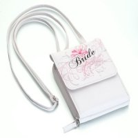 Small White Bride Purse