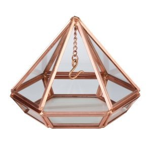Hanging Prism Ring Holder (Copper or Rose Gold) image