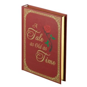 Lillian Rose Fairy Tale Storybook Ring Holder Red/Gold image