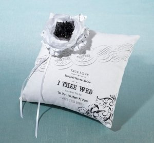 True Love Ring Pillow image