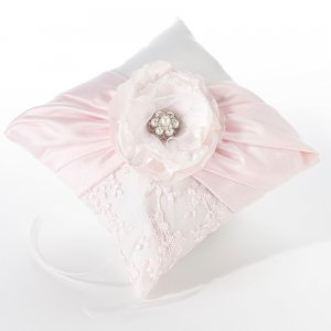 Blush Pink Ring Pillow image