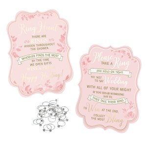 Bridal Shower Ring Game (25 Rings) image