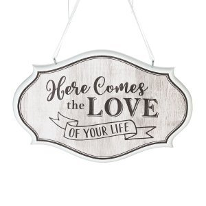 Love of Your Life Wedding Sign (Brown) image