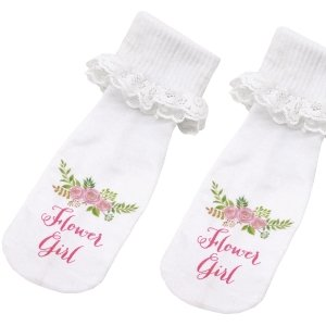 Flower Girl Socks image