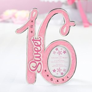 Pink Sweet 16 Picture Frame image