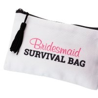 Bridal Party Wedding Day Survival Bag