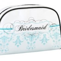 Bridesmaid Cosmetic Bags - Aqua
