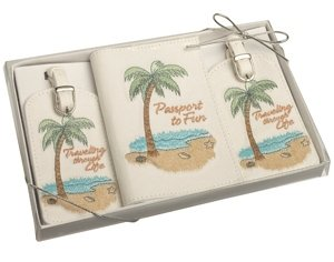 Beach Theme Passport Cover & Luggage Tags image