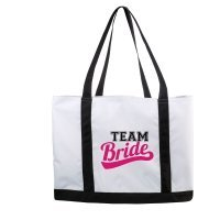 Team Bride and Bride Beach Bags