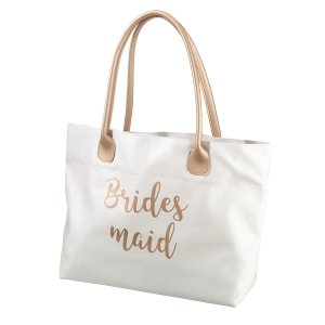 Gold Wedding PartyTote Bag (3 Styles) image