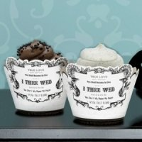 True Love Cupcake Wraps (Set of 12)