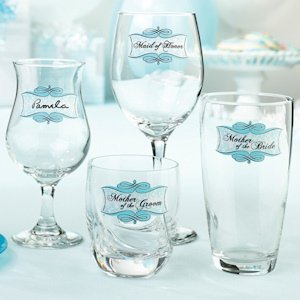 Bridal Shower Glass Clings image