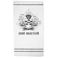Just Married Beach Towel