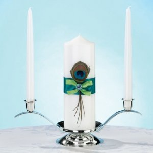 Peacock Flair Candle Set image