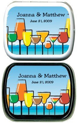 Filled Personalized Mixed Drinks Mint Tins image