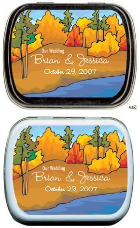 Filled Fall Hills Custom Mint Tins image