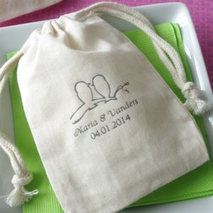 Personalized Large Muslin Bag image