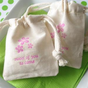 Personalized Small Muslin Bag image