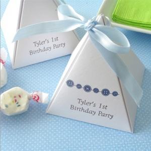 Personalized Stardream Pyramid Favor Box image
