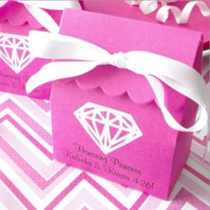 Personalized Basic Scalloped Favor Bag image
